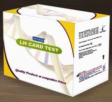BHAT BIO-SCAN LH OVULATION CARD TEST