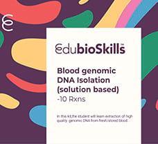 Blood genomic DNA Isolation(solution based) Teaching kit