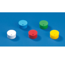 Cap insert for cryogenic tubes, PP, white, for color coding