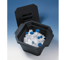 Cooling box with lid, PU-foam, stackable, 4.5 l