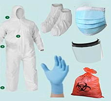 Disposable PPE Kit 100 GSM with lamination