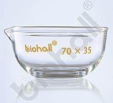 Evaporating Dishes, Flat Bottom, 95X55 MM