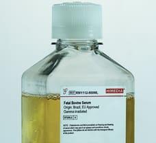 Fetal Bovine Serum, Origin: Brazil, EU Approved, Gamma irradiated, Sterile filtered -RM1112-100ML