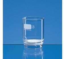 Filter crucible, Boro 3.3, 30 ml, model 1D, porosity 1
