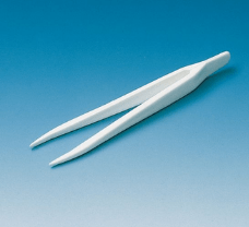 Forcep, PMP, pointed ends, length 145 mm, autoclavable at 121 C