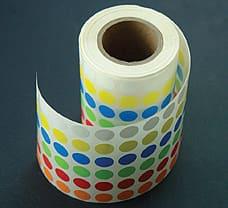 Freeze Tag, Multicolour Dots-LA937M-10x6000NO