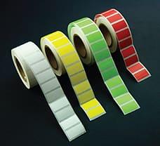 Freeze Tag, Yellow label-LA938Y-1x1000NO