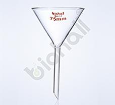 Funnel, DIN/ISO & USP, 75MM