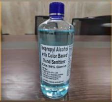 Isopropyl Alcohol based Hand Sanitiser- 500ml
