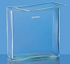 Jars, Rectangular, Museum, with Cover, 3.3 Borosilicate glass, 250 x 165 x 140-6910M44