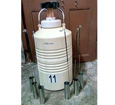 Liquid Nitrogen Container - 11 ltr.