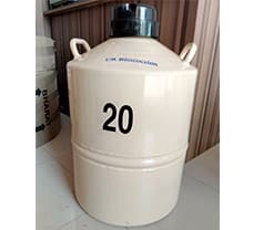 Liquid Nitrogen Container - 20 ltr.