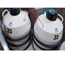 Liquid Nitrogen Container - 35 ltr.