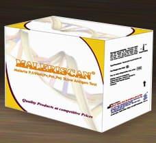 MALERISCAN MALARIA P.f/PAN 3 LINE ANTIGEN CARD TEST