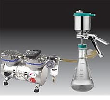 Membrane Filtration Assembly S.S., external clamp