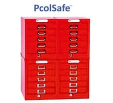 Pcolsafe HPLC Column Storage Cabinet : 120 Columns