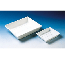 Photographic tray, PP, white stackable, 510x410x120 mm