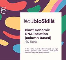 Plant Genomic DNA Isolation(column Based)Teaching kit