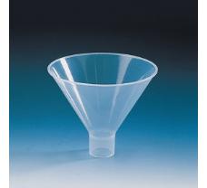 Powder funnel short, wide stem, PP outer dia. 60 mm, stem dia. 15 mm, length 19 mm