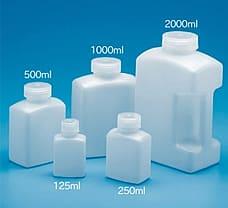 Rectangular Bottle, Material: HDPE 250 ml