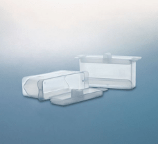 Reservoir with cover,PP, 40ml, graduated, Sterile