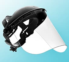 Safety Face Shield , 15.5 x 8 x 0.04 inch