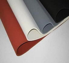 SILICON RUBBER SHEET 1 FT. WIDTH X 1 FT. LENGTH X 2MM THICK(RED)