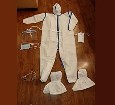 SITRA/DRDO Certified PPE Kit 90 GSM