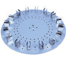 Spare Accessories for WAVEX-LCD Tube Rotator, Disk accessory, 15 ml x 16 micro centrifuge tubes
