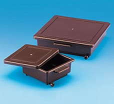 Staining Box, 12.5x12.5x5 cm, Amber-482080