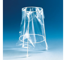 Stand for disposal bags, white