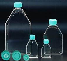 Tissue Culture Flask vented cap, 50 ml-TCS4-10x10NO
