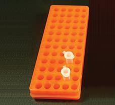 Tube Rack, Orange colour-CG300-1x5NO