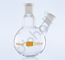 Two neck grounded Round Bottom Flask, USP, 3000ml