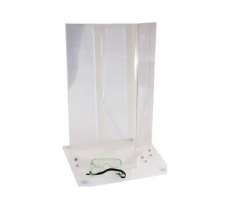 WEIGHTED SAFETY SHIELD H 18 IN.