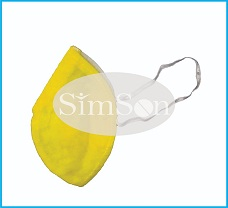 Yellow Color Anti Pollution Mask