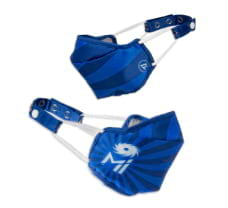 Zero Risque IPL Official Mumbai Indians Re-usable Face Masks with Headband Adjuster Navy Blue for Adults